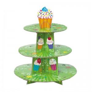 Karton Cupcake Stantları