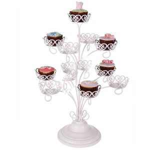 Metal Cupcake Kek Stantları