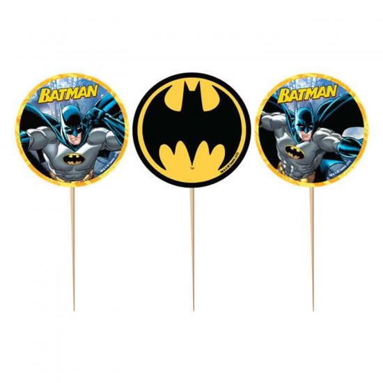 Batman Temalı Kürdanlı Sticker (10 Adet)