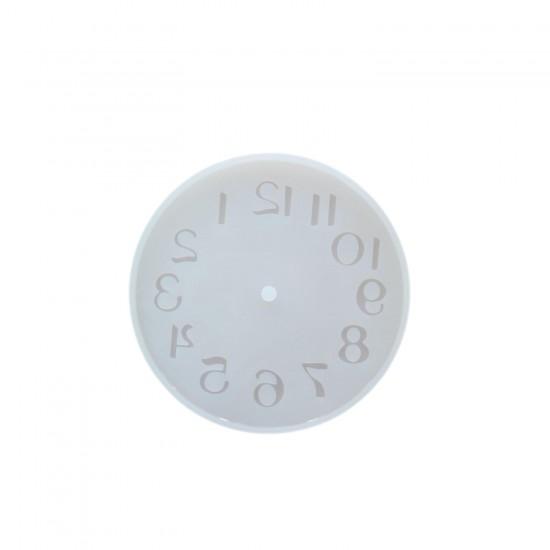 Epoksi Silikon Kalıp Saat Kalıbı Küçük Boy 10 CM