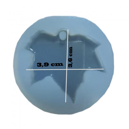 Epoksi Silikon Takı Ve Kolye Kalıbı Çınar Yaprağı Model 3.6 CM