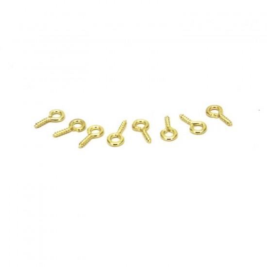 Metal Takı Ve Obje Halkası Vidalı  1 CM  (20 Adet)