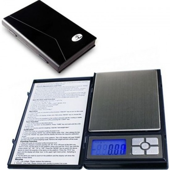 Notebook Hassas Cep Terazi 500 Gr 0.01 Taksimat Dijital