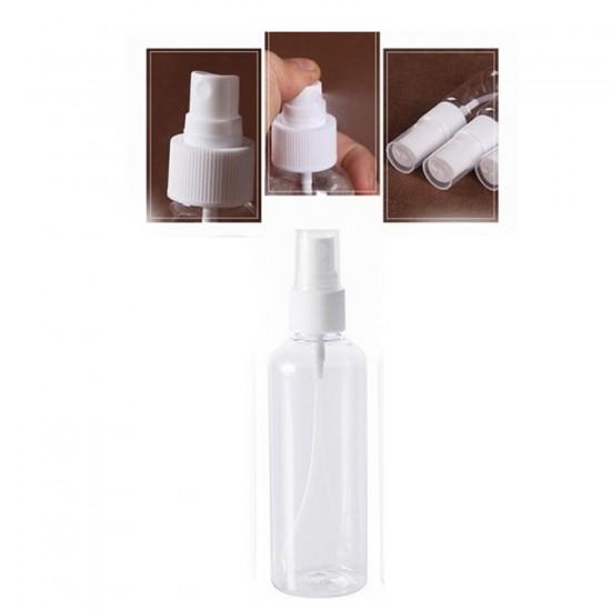 Plastik Kolonya Ve Dezenfektan  Şişesi  Kapaklı 50 CC (10 Adet)
