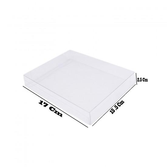 Asetat Kutu 15,5X17X2.5 CM (50 Adet)