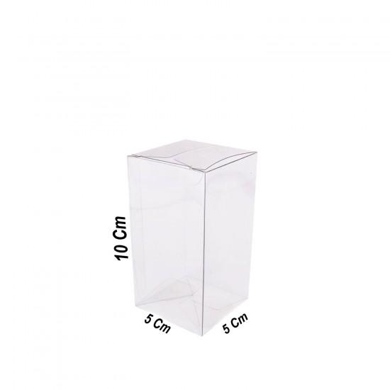 Asetat Kutu 5X5X10 CM (50 Adet)