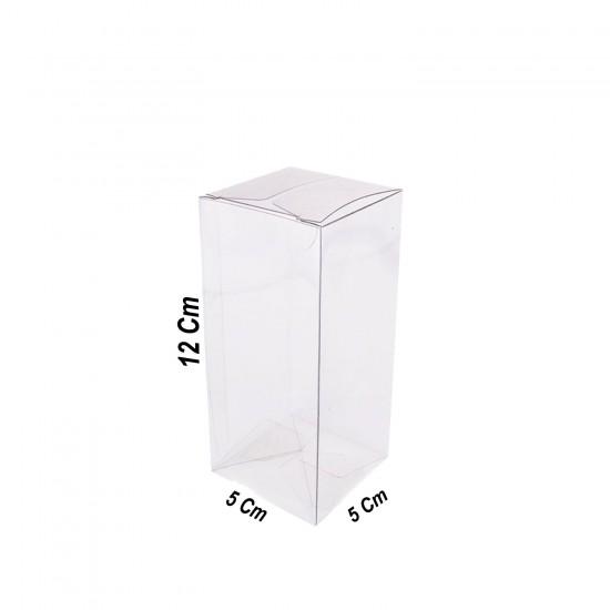 Asetat Kutu 5X5X12 CM (50 Adet)