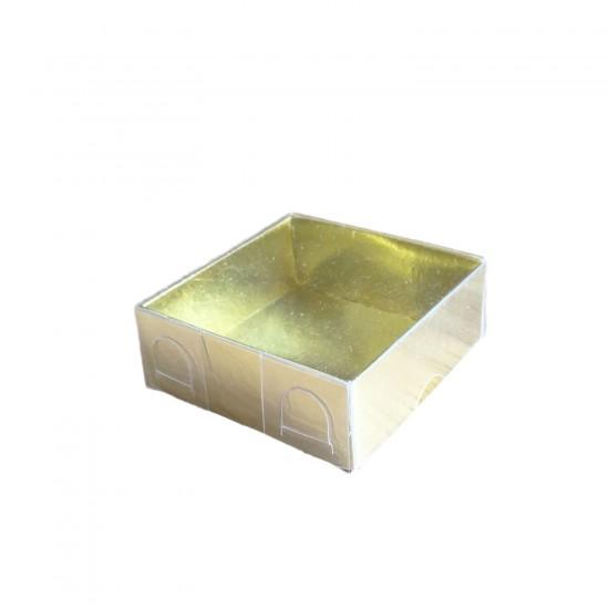 Asetat Kutu Altı Karton 5X5X2,2 CM (50 Adet)