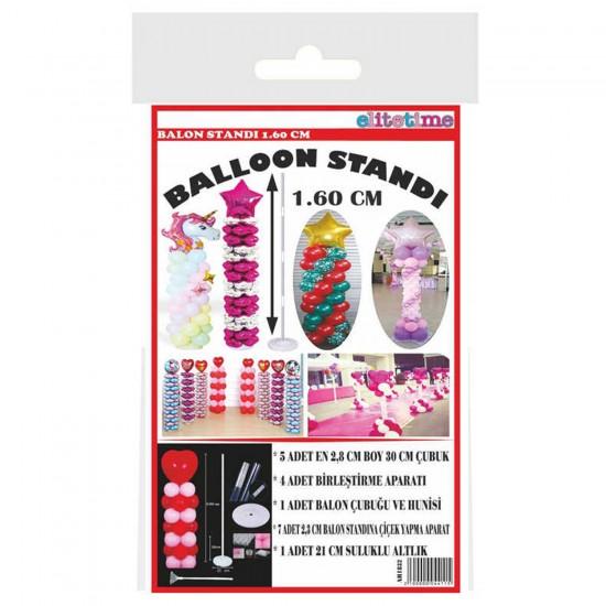 Ayaklı  Balon Süsleme Standı Battal Boy 160 CM