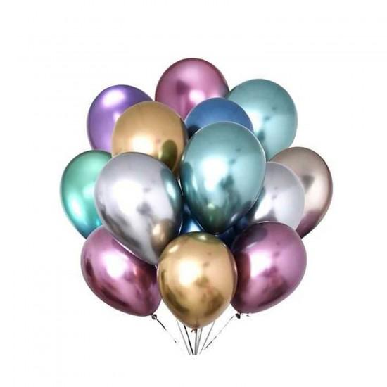 Krom Parlak Balon 16 İnc  (5 Adet)