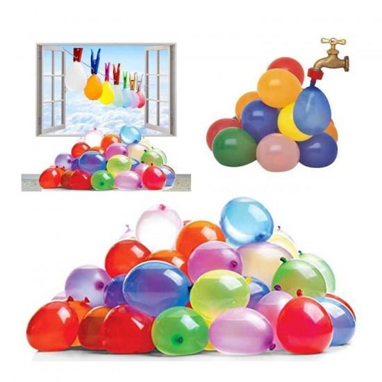 Balon Su Bombası Blister Karışık Renk (25 Adet)