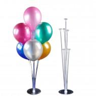 Ayaklı  Balon Süsleme Standı 7 Çubuklu Set 75 CM