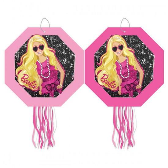 Barbie Essential Temalı Pinyata Çubuklu