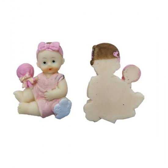 Bebek Şekeri Biblosu Bebek Başında Fiyonk (20 Adet)