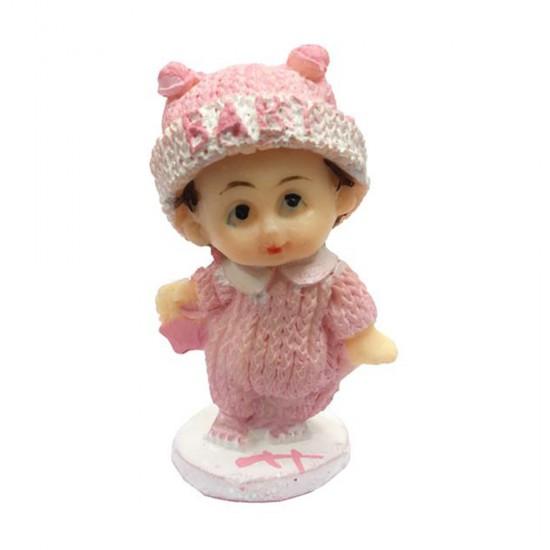 Bebek Şekeri Biblosu Elbisesi Simli (20 Adet)