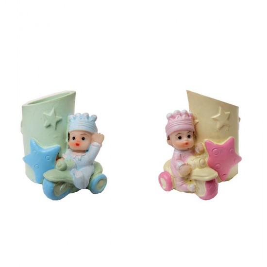 Bebek Şekeri Biblosu Bebek Kalemlik (4 Adet)