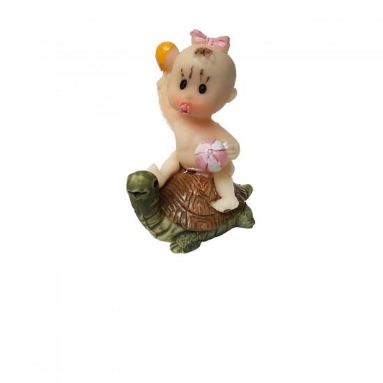 Bebek Şekeri Biblosu  Kaplumbağa Üstünde (20 Adet)