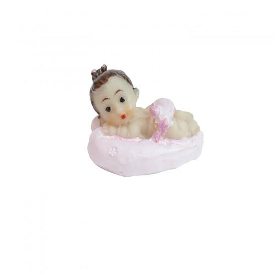 Bebek Şekeri Biblosu Bebek Kalpli (50 Adet)
