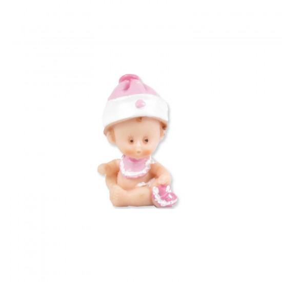 Bebek Şekeri Biblosu Polyester Bebek Şapkalı Küçük (50 Adet)