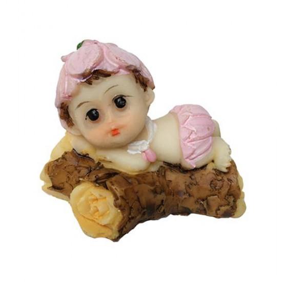 Bebek Şekeri Biblosu Ağaç Üstünde Çiçekli (20 Adet)