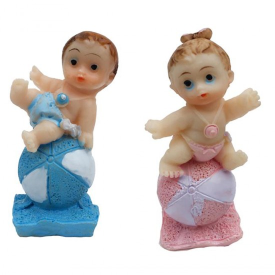 Bebek Şekeri Biblosu Bebek Topun Üstünde (20 Adet)