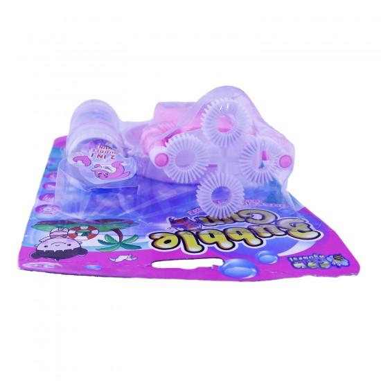 Bubble Kartelali Köpük Tabancasi Pilli