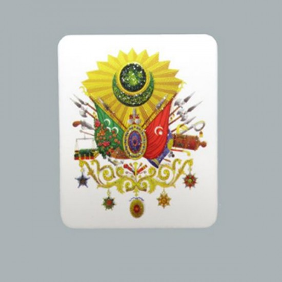 Sticker Osmanlı Arması (50 Adet)