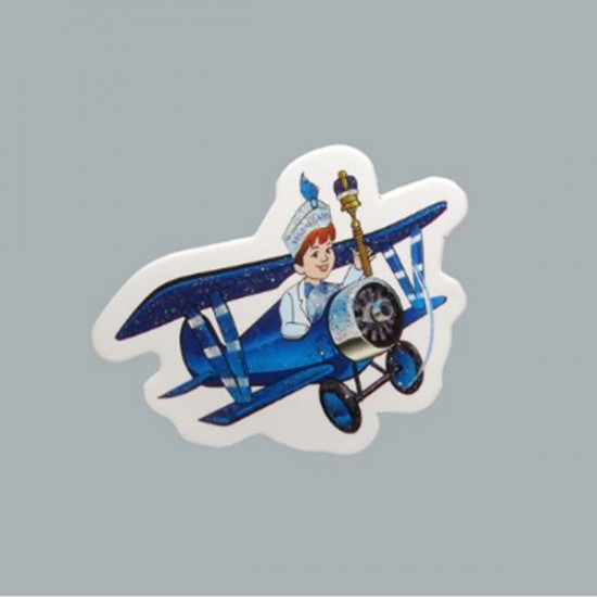 Sticker Sünnet Çocuğu Uçakta (50 Adet)