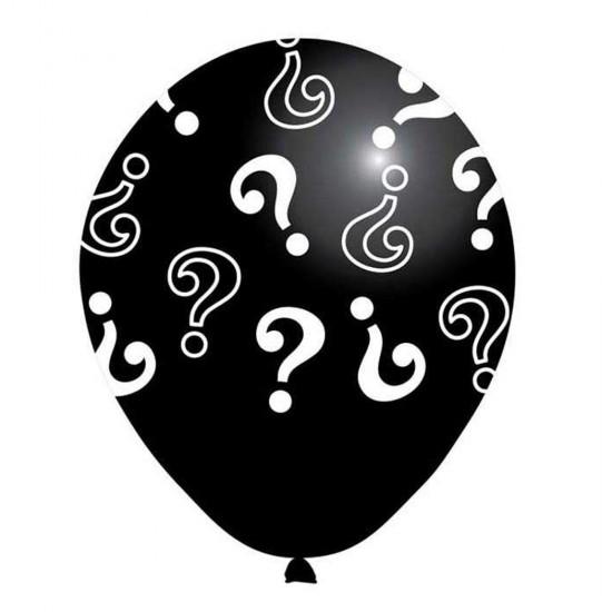 Cinsiyet Belirleme Balonu Soru İşareti Baskılı (20 Adet)