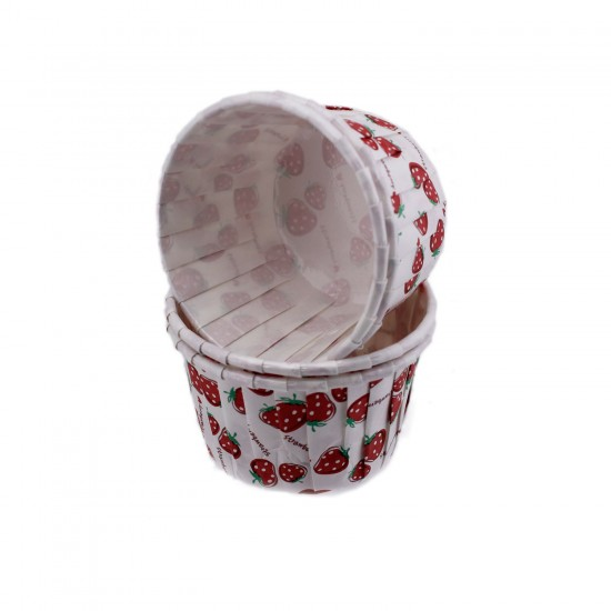 Cupcake Kalıbı Orta Boy 50*39 Mm DESENLİ (50 Adet)