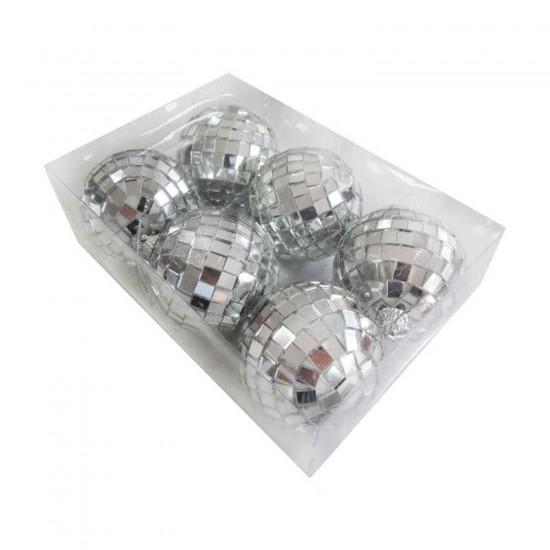 Disko Süsleme Topu Orta Boy 6 CM (6 Adet)