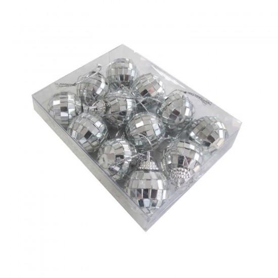 Disko Süsleme Topu Küçük Boy 3 CM (12 Adet)
