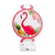 Flamingo Temalı Kaynana Dili  (6 Adet)