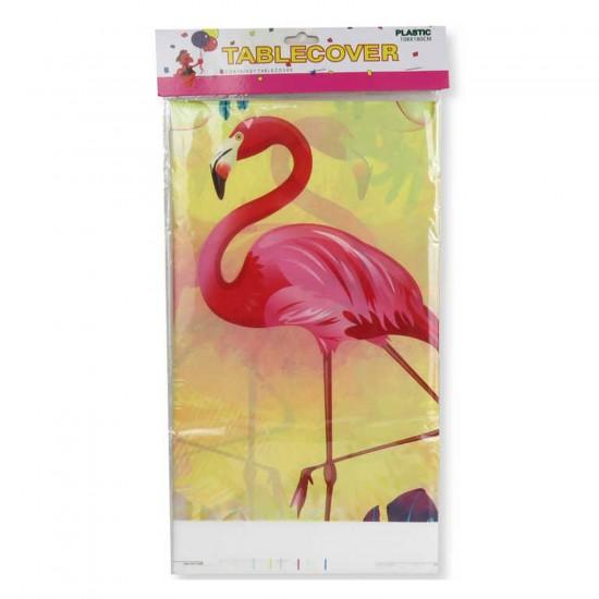 Flamingo Temalı Masa Örtüsü 120 CM X 180 CM