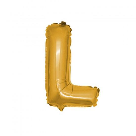 Folyo Balon Harf 90 Cm Altın - Folyo Alfabe