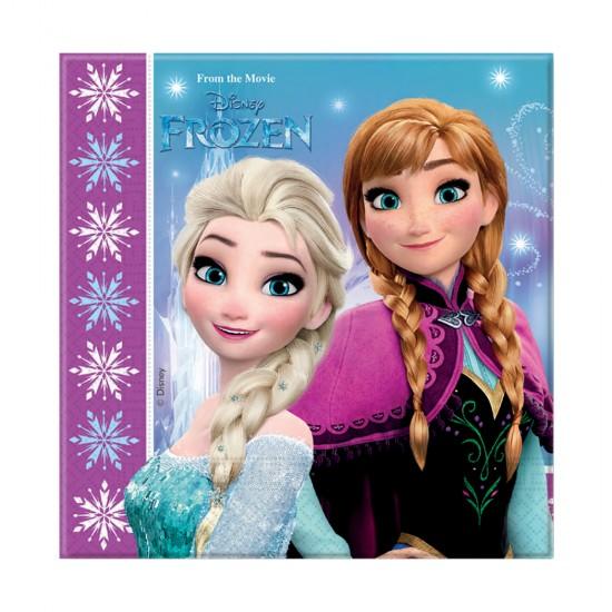 Frozen Northern Lights Temalı  Kağıt Peçete 33X33 Cm (20 Adet)