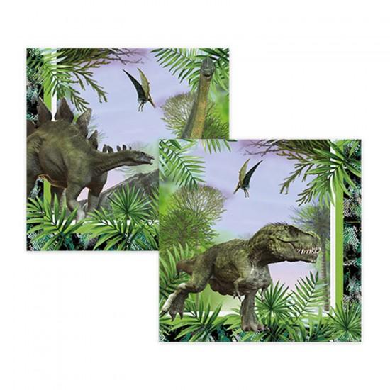 Jurassic Temalı Kağıt Peçete 33X33 CM (16 Adet)