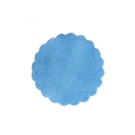 Karlı Organze Hazır Kesilmiş Tül 24 Cm (100 Adet)