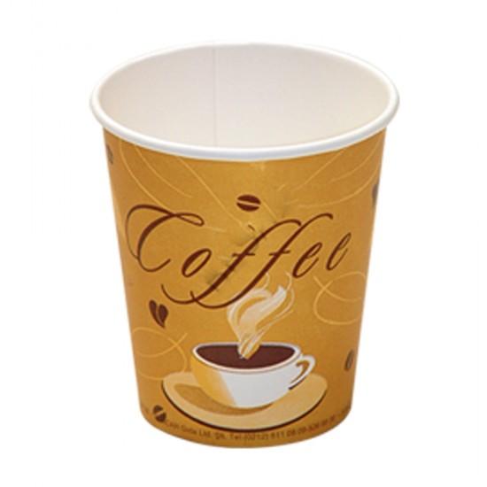 Karton Bardak  14 Oz Coffee  Desenli (50 Adet)