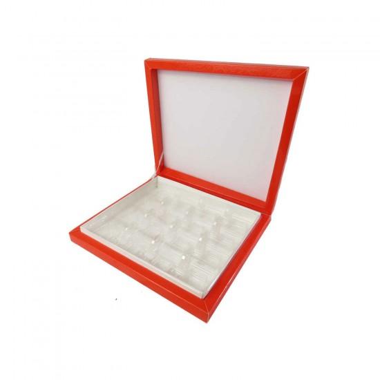 Karton Çikolata Kutusu 16lı Separatörlü 23.5 X 22.5 CM