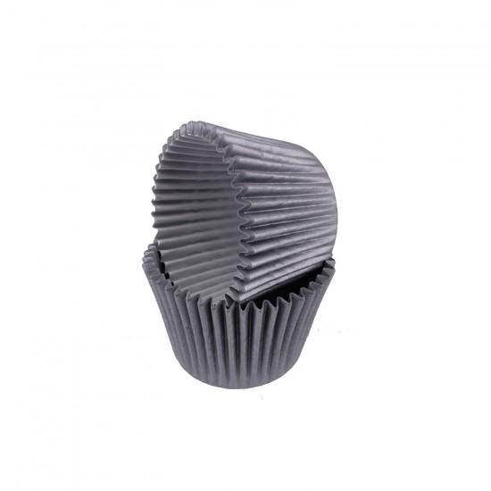 Kek Kalıbı Pet Kapsül 52X45 MM Kağıt Cupcake Kalıbı (100 Adet)