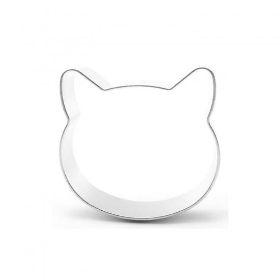 Kek Kurabiye Ve Pasta Kalıbı Metal Şekilli Hello Kitty 5.5X5.5 CM