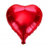 Kalp Folyo Balon Büyük Boy Kırmızı 90X90 Cm