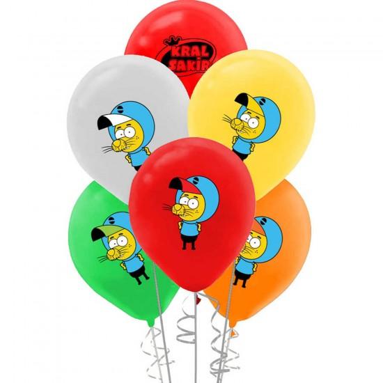 Kral Şakir Lisanslı Balon Pastel 12 İNÇ 0476 (20 Adet)
