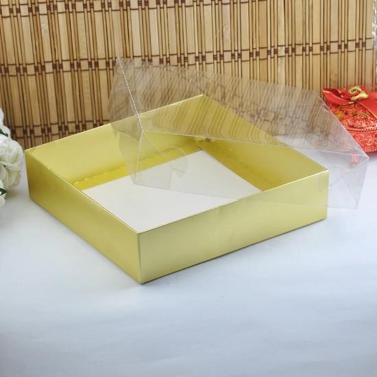 Asetat Kapaklı Karton Kutu Havlu Kutusu 20X20X5 (25 Adet)