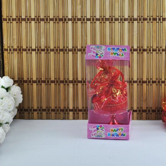 Çift Kartonlu Asetat Kutu Happy Birthday 7X7X16 (50 Adet)