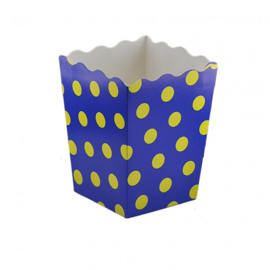 Popcorn Kutusu Karton Taraftar Puanlı (Mısır Kutusu) (12 Adet)