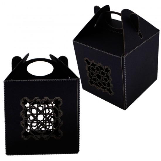 Karton Kutu Lazer Kesim Kına Çerez Ve Hediye İçin 6X6X6 (25 Adet)