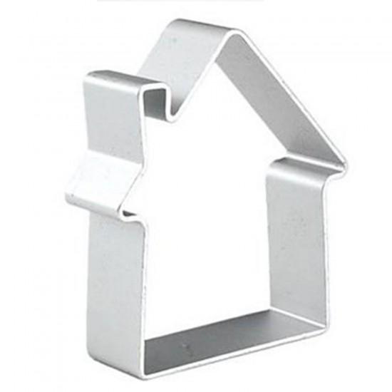 Metal Kek Ve Pasta Kalıbı Ev Sekli Modeli 32X29X5 CM
