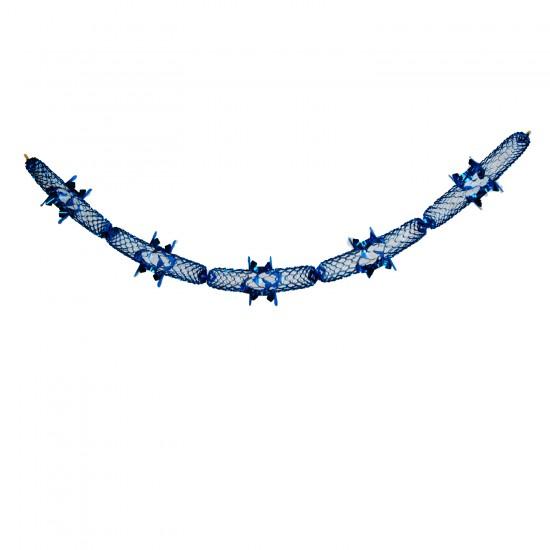 Metalize  Folyo Parlak Uzar   Süs Mavi 131